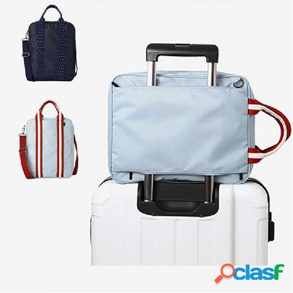 Honana hn-tb10 impermeável viagem mochila de armazenamento multifuncional grande unisex bagagem bolsa