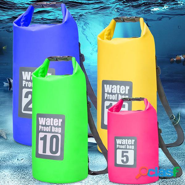 Bolsa impermeável casual de natação de pvc para praia