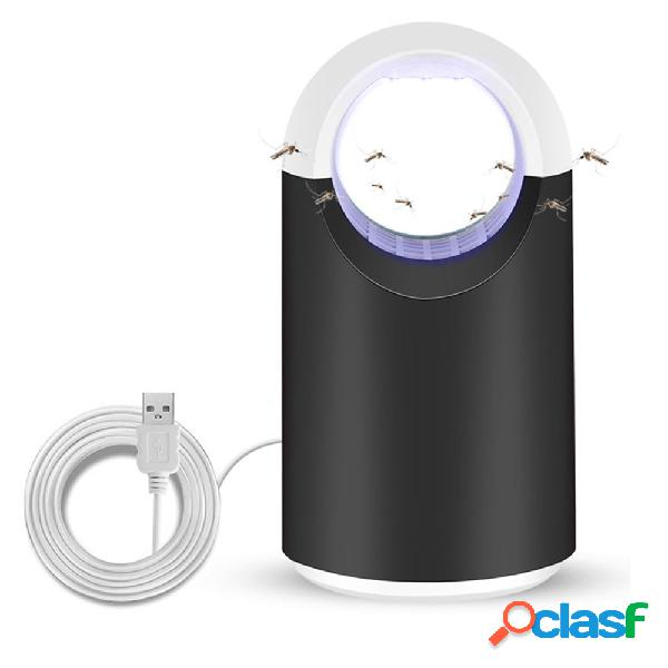 Loskii casa led mosquito inseto assassino armadilha lâmpada led controle de pragas elétrica anti mosquito repeller
