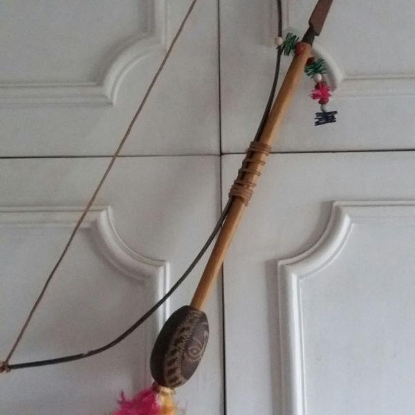 Arco e flecha decorativo artesanal produto