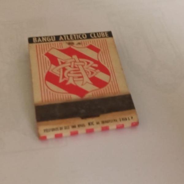 Caixa fósforp bangú atlético club década de 50 - caixa