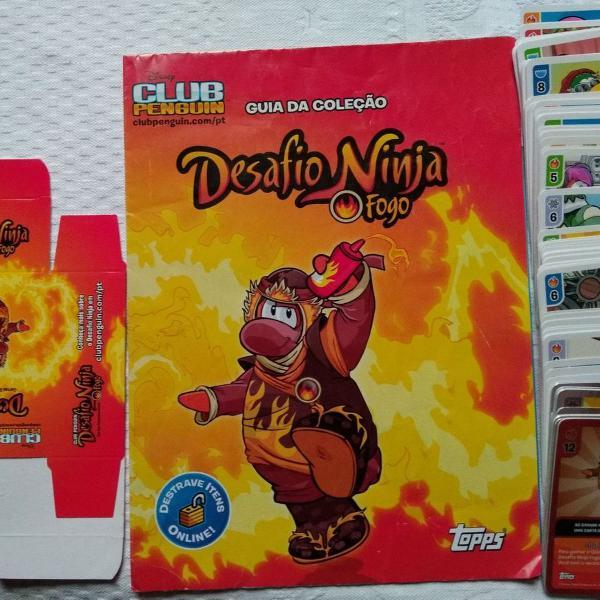 Club penguin desafio ninja 87 cards para jogar só para fãs