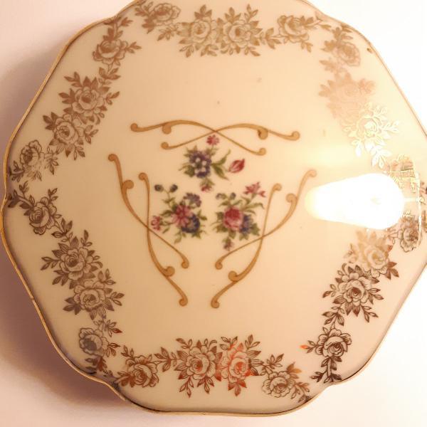 Porta jóias porcelana limoges - frança