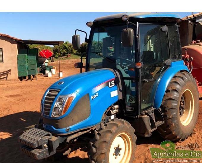 Trator ls tractor r 60 4x4 (cabine original - 2.260 horas)