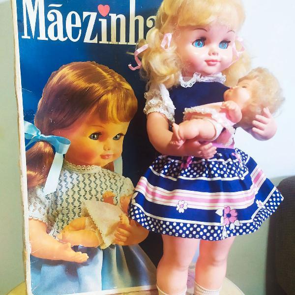 Antiga boneca mãezinha da estrela completa e funcionando