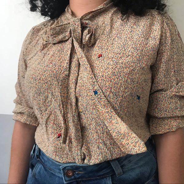 Camisa vintage vovó