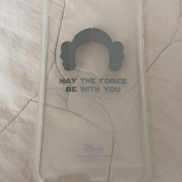 Capa case proteção celular iphone x 10 usada disney star
