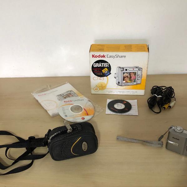 Câmera digital kodak easy share