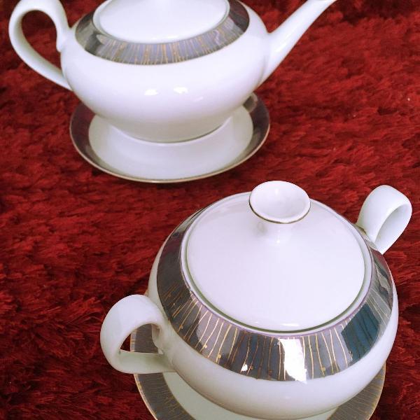 Conjunto chá chic | anos 70