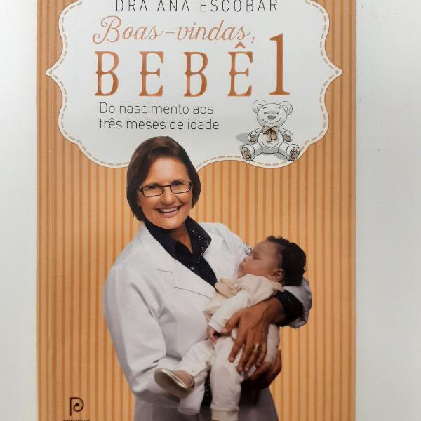 Livro boas vindas bebê 1