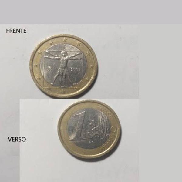 Moeda 1 euro italia 2002