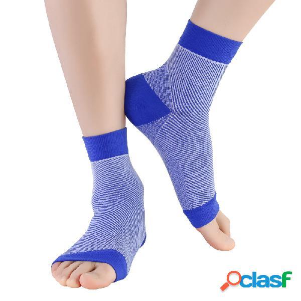 Protetor de tornozelo anti-torção de compressão de pressão de mens soft protetor de tornozelo confortável