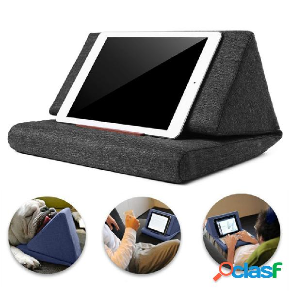 Suporte preguiçoso para travesseiro dobrável universal para smartphone tablet suporte antiderrapante suporte para telefone de mesa
