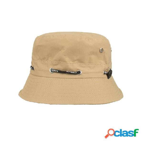 Homens mulheres balde ajustável chapéu viseira de sol cap top chapéus ao ar livre caça pesca cap