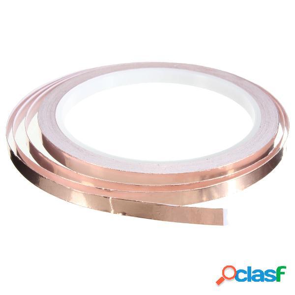 Foil tape single sided condutor self adhesive copper heat insulation 6mm x10m