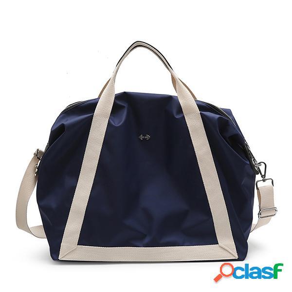 Saco impermeável de nylon da bagagem do saco do armazenamento da bolsa do saco do curso