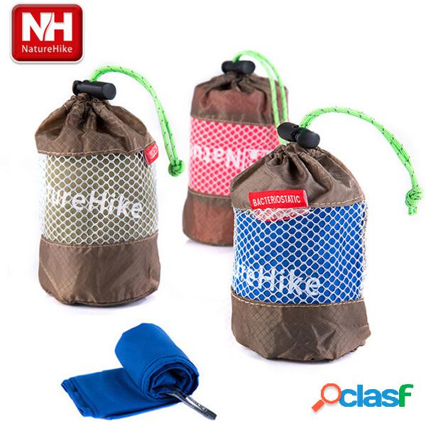 Toalha de microfibra naturehike de secagem rápida outdoor travel antibacterial sport towel
