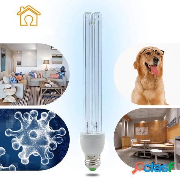 E27 lâmpada germicida desinfecção ultravioleta antibacteriana de esterilização por ozônio 15w 20w uv