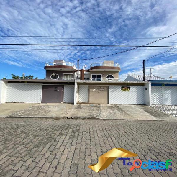 Linda casa duplex independente de 3 quartos Novo Portinho!!!