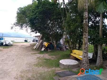 Terreno frente à baía de guaratuba à venda bairro piçarras