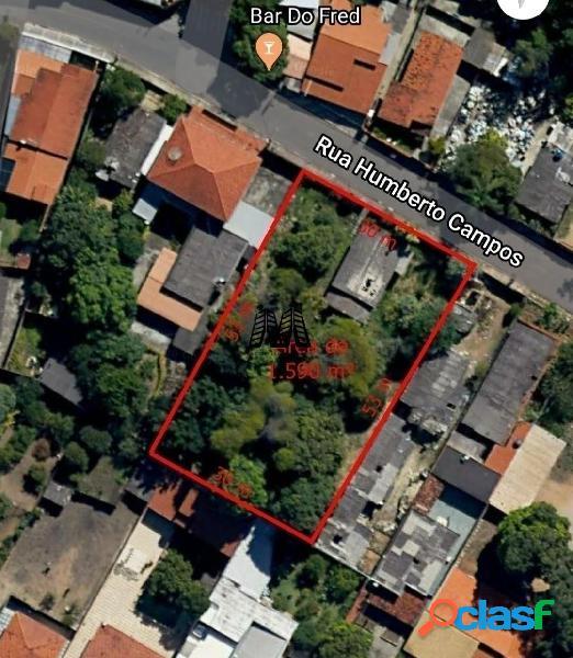 3 lotes juntos (1590 m²) no bairro chácara, betim - mg.