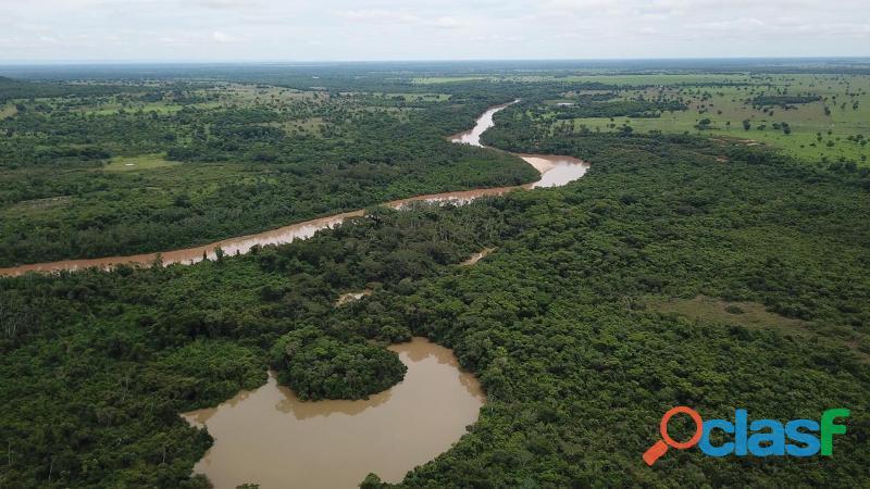 200 Alqs Cultura Planas Margeada Por Rio Represas d Grande Porte Jussara GO 2
