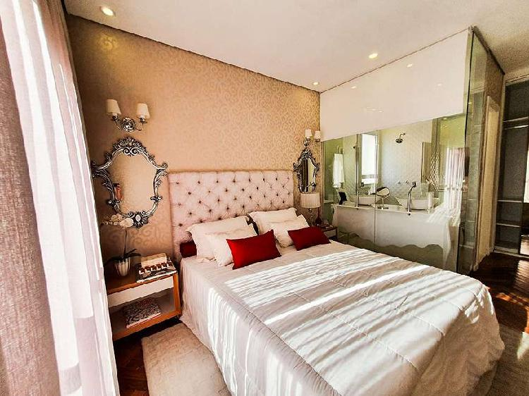 Apartamento a venda tem 110m² com 3 ou 4 quartos 2 vagas em