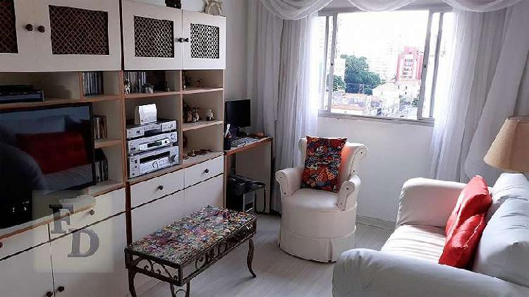 Apartamento de 45 metros quadrados no bairro santa cecília