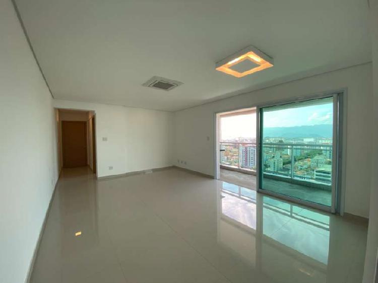 Apartamento para venda 144 m² com 3 dormitórios no embaré