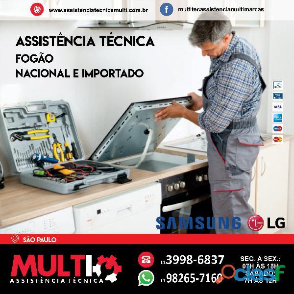 Assistência para Fogão na região de São Paulo
