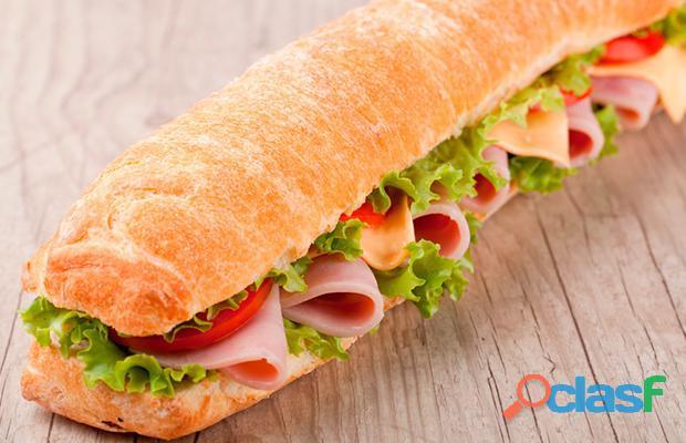 Franquia de alimentação fast food em santo andré.