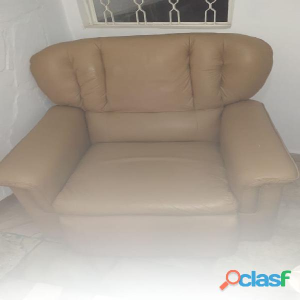 sofá 1 lugar poltrona reclinável corino 1