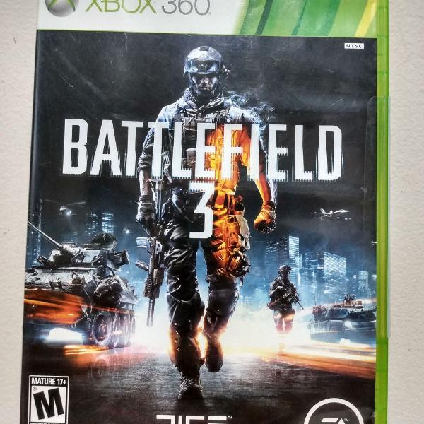 Battlefield 3 + kinect adventures para xbox 360