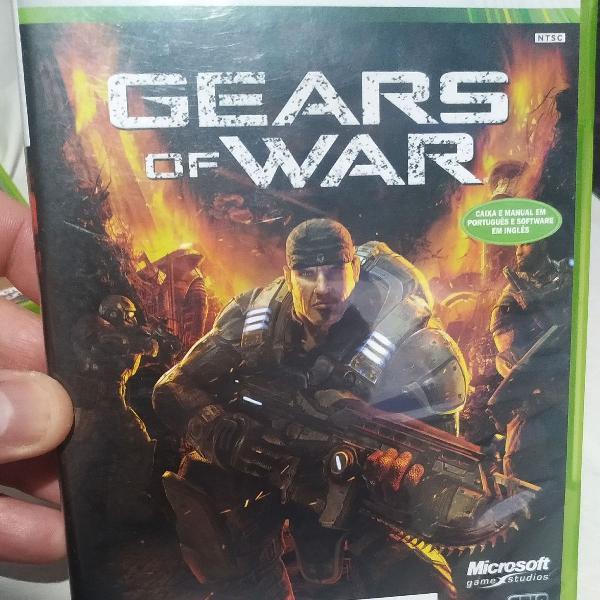 Coleção gear of war xbox 360