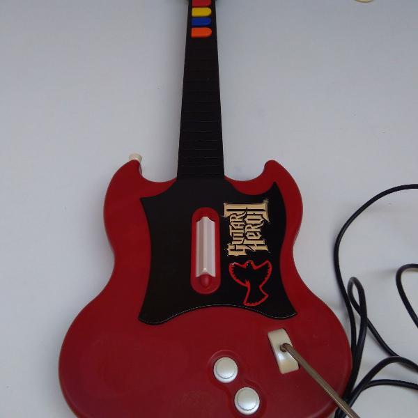 Guitarra guitar hero para playstation 2