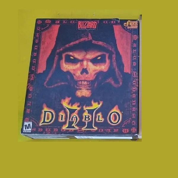 Jogo pc box diablo 2 original blizzard c/ caixa colecionador