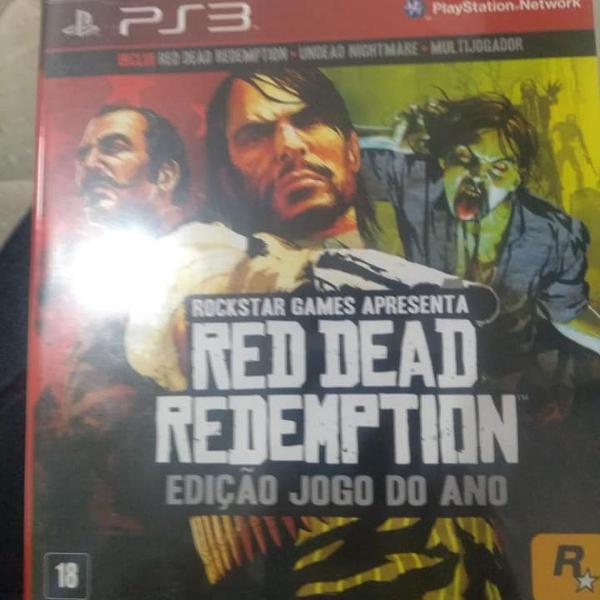 Jogo red dead redemption para ps3 - original