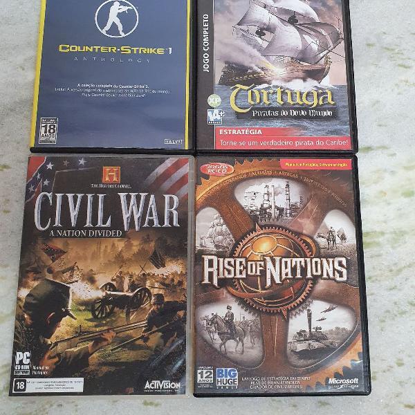 Kit 4 jogos de pc originais