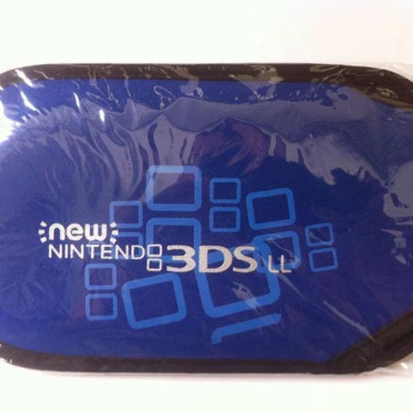 Luva 3ds Xl Case Estojo Azul New 3ds Xl - Tela Grande Novo