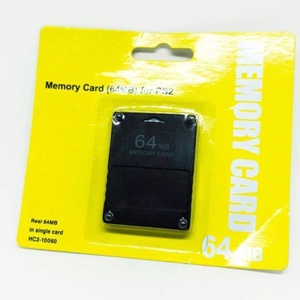 Memory card ps2 sony 64mb para playstation 2 pronta entrega