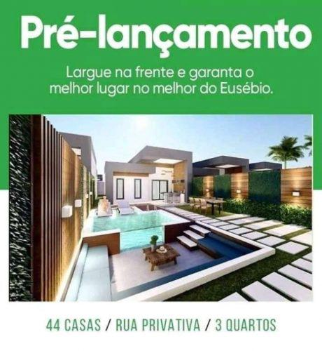 Oportunidade san marino casas planas 105m centro eusebio