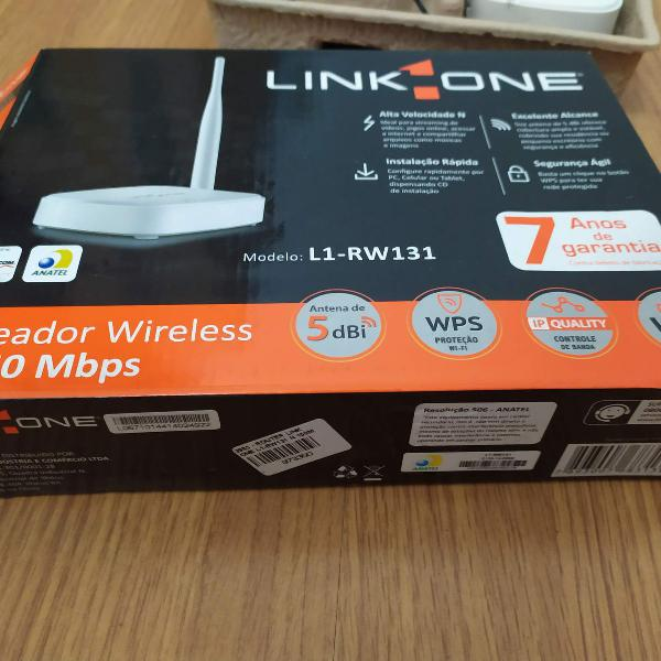 Roteador wireless 150mbps - l1-rw131 - link one