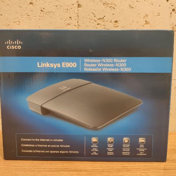 Roteador wireless linksys e900
