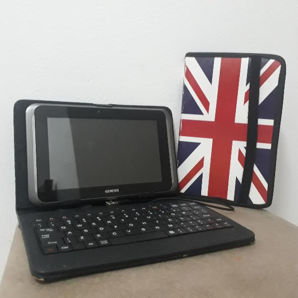 Tablet Genesis GT - 7310 + Capinha com Teclado + Capinha
