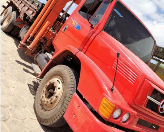 Truck munk vermelho 2000 (entrada 5.590)