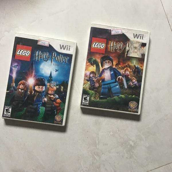 Wii 2 jogos harry potter lego