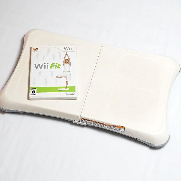 Wii balance board + jogo wii fit