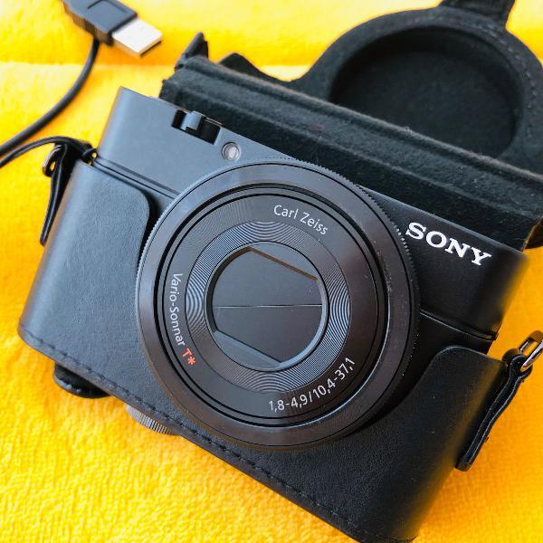 Câmera compacta sony dsc-rx100