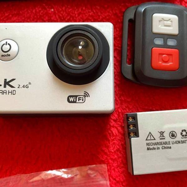 Câmera de ação ultra hd 4k