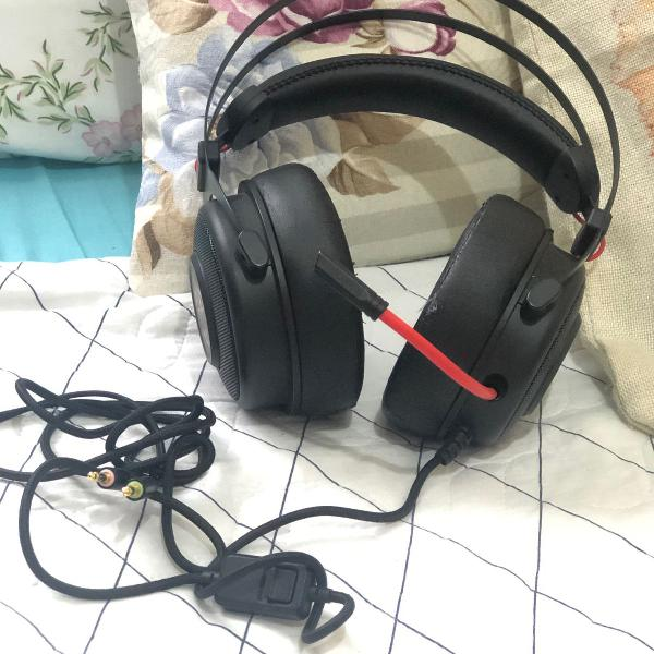 Fone de ouvido headset gamer hp omen 800 preto